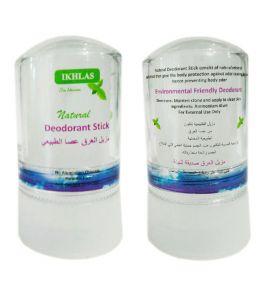 Натуральный дезодорант алунит без запаха Ikhlas (60 г, Египет)