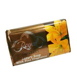 Ароматическое мыло без животных жиров Royal Sweet Lily (125 г, ОАЭ)