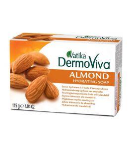 Увлажняющее мыло Dabur Vatika DermoViva Almond (115 г, Индия)