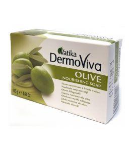 Увлажняющее мыло Dabur Vatika DermoViva Olive (115 г, Индия)