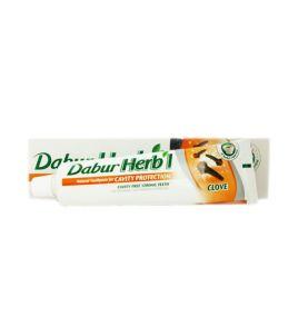 Зубная паста с гвоздикой Dabur Herbal Clove (150 г, Индия)