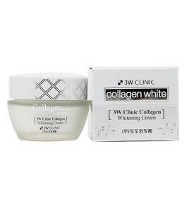 Крем для лица с морским коллагеном 3W Clinic Collagen Whitening Cream (60 мл)
