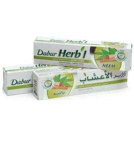 Зубная паста с нимом Dabur Herbal Neem (150 г, Индия)