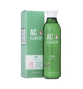 Тонер для проблемной кожи с акне AC Clean Up Toner Etude House (200 мл, Южная Корея)