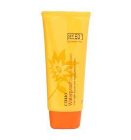 Солнцезащитный водостойкий крем Cellio Waterproof Daily Sun Cream SPF50+/PA++++ (70 мл)