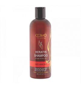Шампунь от выпадения волос с кератиновым маслом Cosmo Keratin Shampoo (480 мл)