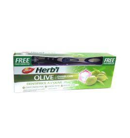 Зубная паста с экстрактом оливы Dabur Herbal Olive (150 г, Индия)
