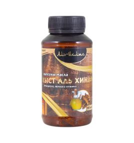 Масло кыст аль хинди в капсулах Аль-Ихлас (150 капсул, Египет)
