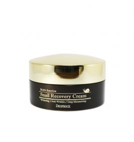 Крем для лица с улиткой Deoproce Multi-Function Snail Recovery Cream (100 гр)