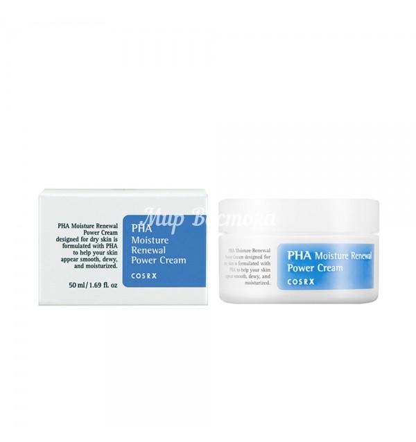 Обновляющий крем для лица PHA Moisture Renewal Power Cream (Cosrx)