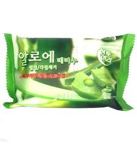 Мыло для лица с экстрактом алоэ Juno (150 г, Южная Корея)