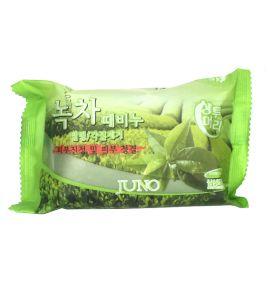 Мыло для лица с экстрактом зеленого чая Juno (150 г, Южная Корея)