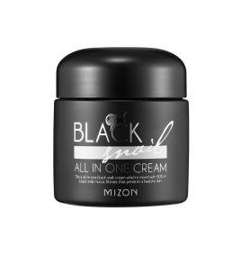 Крем для лица со слизью черной улитки Mizon Black Snail All In One Cream (75 мл)