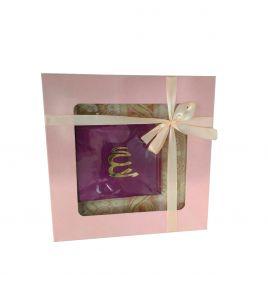 Женский подарочный набор (жайнамаз, молитвенная книжка и четки)