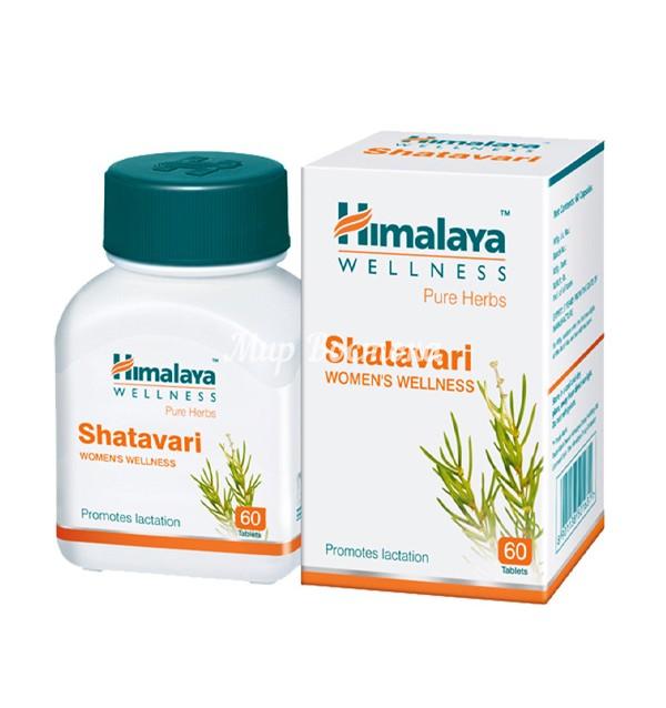 Средство для женского здоровья Шатавари Shatavari Himalaya (60 таблеток, Индия)