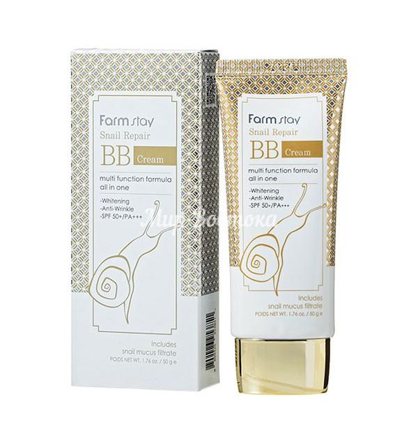 Многофункциональный улиточный BB-крем Formula All-in-one Snail Sun BB Cream SPF50+/PA+++ (50 гр)