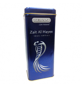 Змеиный жир Zait al Hayee для волос Hemani (250 мл)
