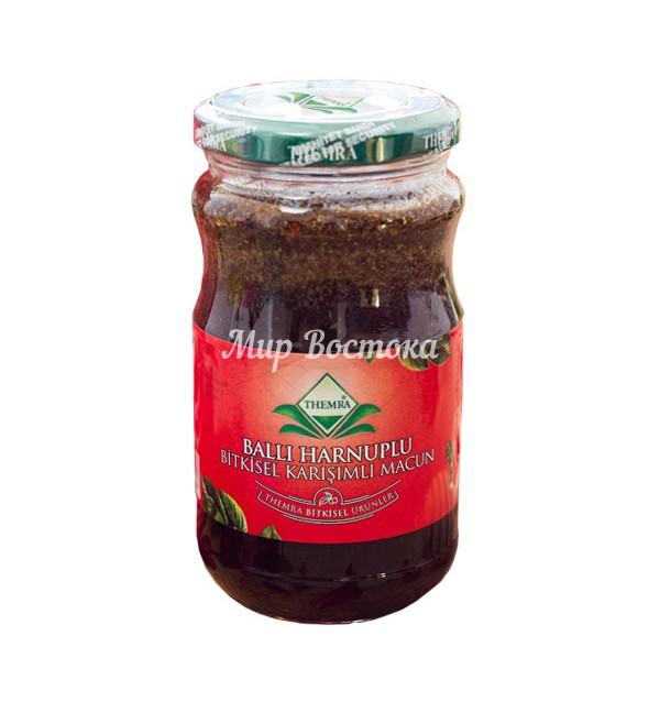 Медовая паста Themra с цератонией (420 г)