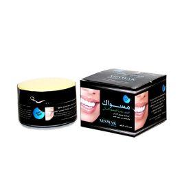 Отбеливающий зубной порошок с черным тмином Miswak Al Juzoor (50 г, ОАЭ)